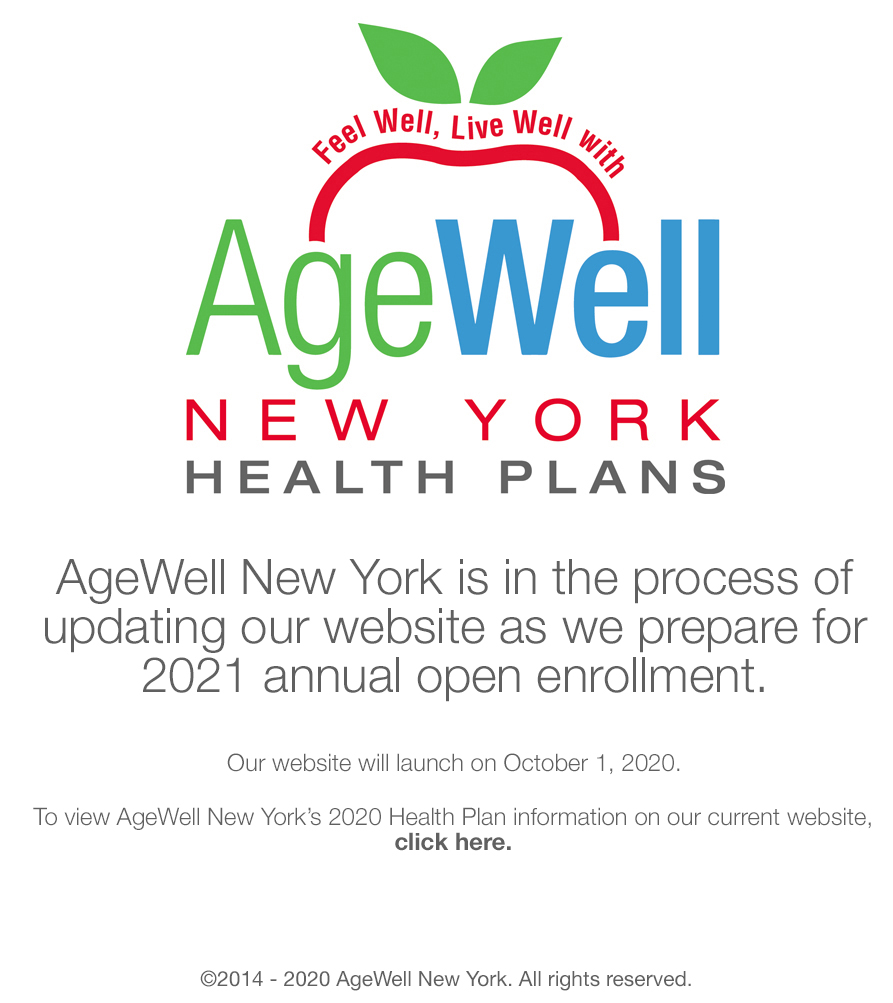 AgeWell is launching their new site.